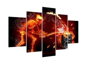 Obraz - Hudba v plamenech (V022217V150105)