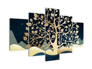 Obraz zlatého stromu (V022286V150105)