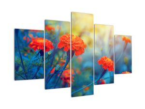 Obraz - Oranžové květy (V022359V150105)