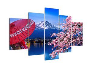 Kép - Kilátás a csúcsra, Japán (V022397V150105)