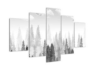 Obraz - Vrcholky lesů (V022456V150105)