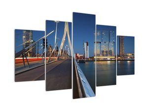 Kép - Alkonyat Rotterdamban, Hollandia (V022478V150105)