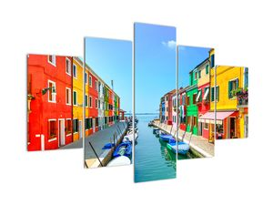 Obraz - Ostrov Burano, Benátky, Itálie (V022522V150105)