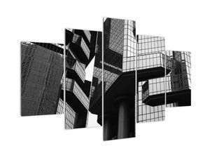 Obraz skleněných budov (V022610V150105)