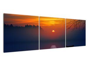 Híd képe naplementekor (V020012V15050)