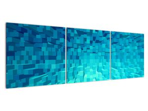Obraz - abstraktní kostky (V020021V15050)