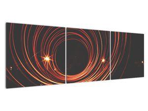 Obraz abstraktních linek (V020030V15050)