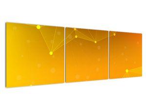 Abstraktní žlutý obraz (V020045V15050)