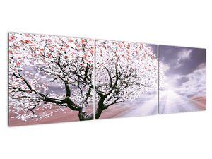 Červený obraz stromu (V020052V15050)