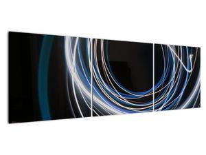 Tablou cu linii albastre (V020053V15050)
