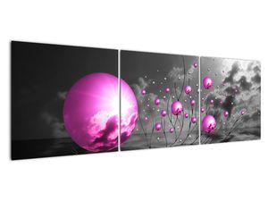 Obraz ružových gulí (V020108V15050)