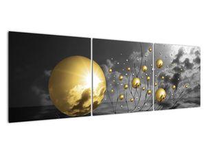 Okker gömbök képe (V020109V15050)