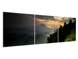 Obraz - zelená horská krajina (V020249V15050)