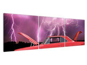 Slika crvenog automobila (V020409V15050)