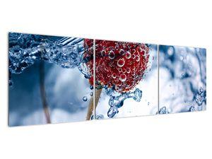 Kép - málna részlete a vízben (V020516V15050)