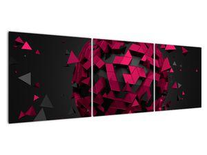Obraz 3D abstrakce (V020866V15050)