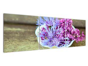 Obraz dekorace s levandulí (V020874V15050)
