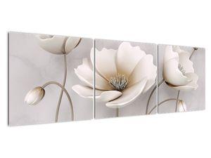 Obraz bílých květin (V020898V15050)