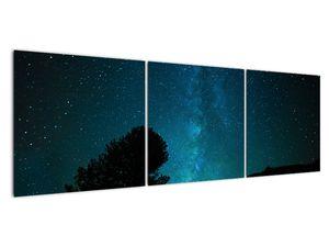 Obraz nočnej oblohy s hviezdami (V021100V15050)