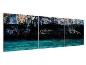 A víz és a sziklák képe (V021152V15050)