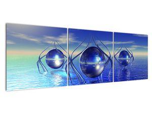 Obraz abstrakce - voda (V021284V15050)