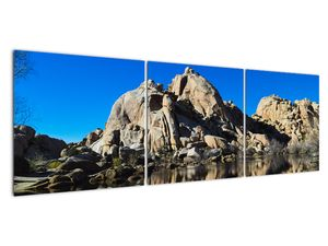 Obraz zrkadlenie skál (V021327V15050)