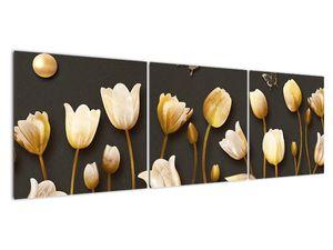Obraz - Tulipány - abstraktné (V021347V15050)
