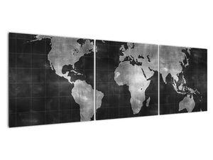 Obraz - Mapa světa (V021461V15050)