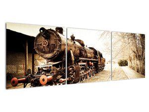 Slika - Povijesna lokomotiva (V021959V15050)