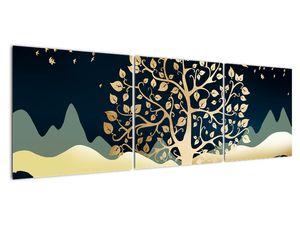 Slika zlatega drevesa (V022286V15050)