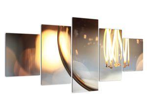 Obraz svítící žárovky (V020011V150805PCS)