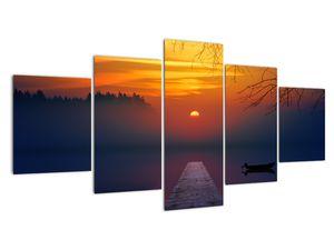 Híd képe naplementekor (V020012V150805PCS)