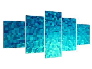 Obraz - abstraktní kostky (V020021V150805PCS)