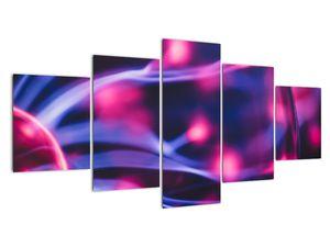 Abstraktní fialový obraz (V020032V150805PCS)