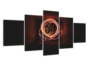 Obraz - čáry v tunelu (V020033V150805PCS)