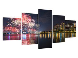 Tablou cu artificii in Singapur (V020035V150805PCS)