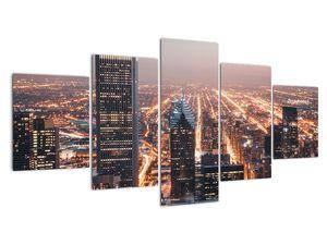 Obraz svítící metropole (V020042V150805PCS)