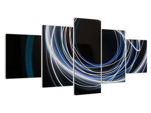 Tablou cu linii albastre (V020053V150805PCS)