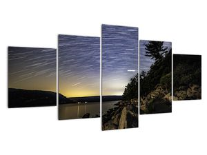 Obraz - obloha při západu slunce (V020079V150805PCS)