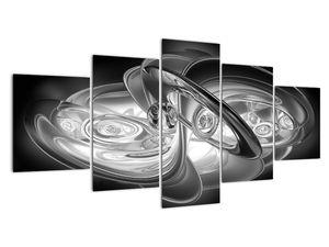 Slika moderne sive abstrakcije (V020118V150805PCS)