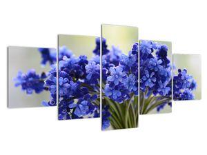 Obraz kytice modrých květů (V020175V150805PCS)