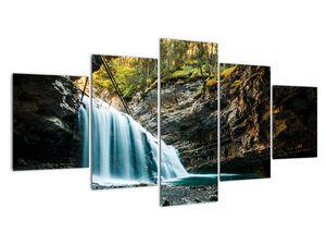 Tablou cu cascada de pădure (V020223V150805PCS)