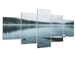 Tablou - lacul nordic înghețat (V020225V150805PCS)