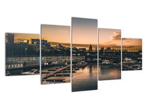 Tablou - orașul port (V020226V150805PCS)