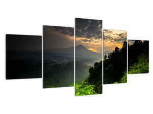 Obraz - zelená horská krajina (V020249V150805PCS)
