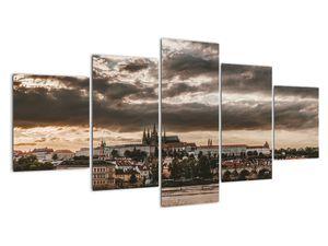 Obraz - zamračená Praha (V020258V150805PCS)