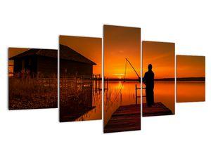 Tablou cu pescar (V020264V150805PCS)