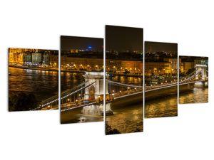 Obraz nočního města (V020332V150805PCS)
