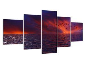 Obraz moře s ptáky (V020351V150805PCS)