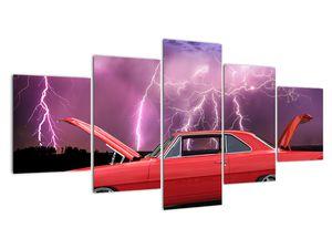 Slika crvenog automobila (V020409V150805PCS)